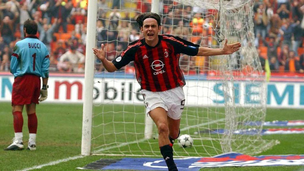 Flip-Flop Nomor 9 di AC Milan