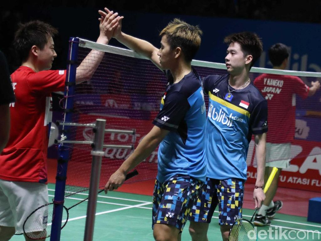 The Minions Maju ke Babak Kedua Indonesia Open 2019