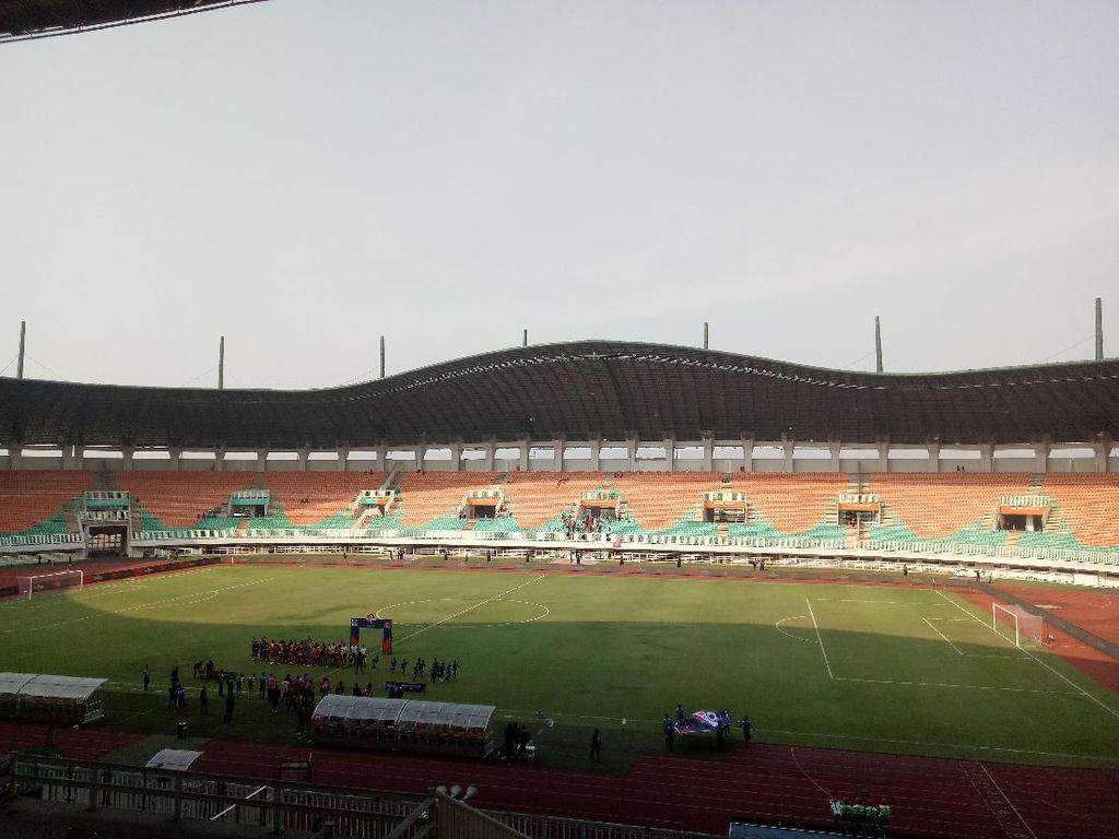 Tercoret dari Venue Piala Dunia U-20, Stadion Pakansari Tetap Renovasi