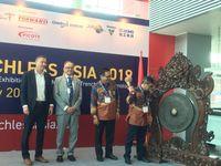 Pameran teknologi konstruksi modern di Jakarta International Expo (Jiexpo)