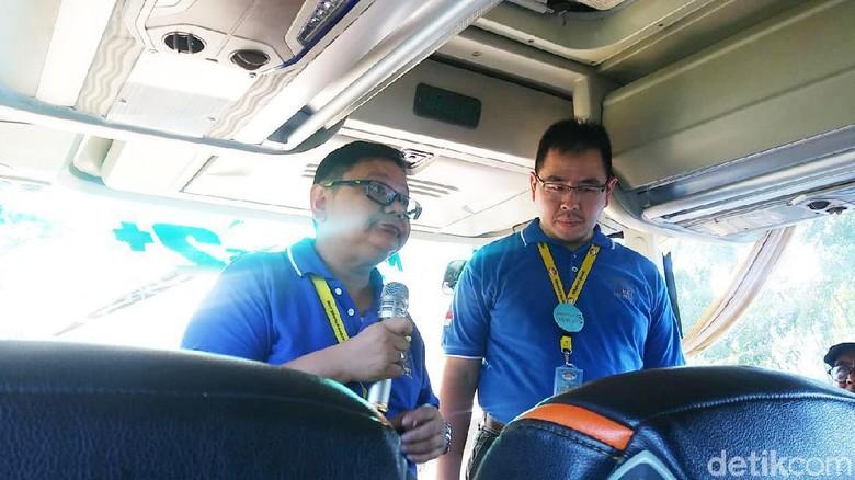 Ketua HPI DKI Jakarta, Revalino Tobing (sebelah kiri) (Johanes Randy/detikTravel)