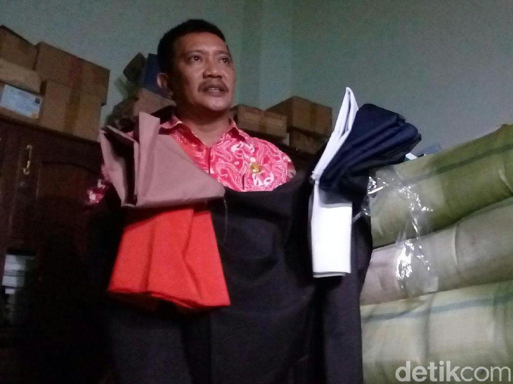 Siswa SD dan SMP di Kota Mojokerto Belum Terima Kain Seragam Gratis