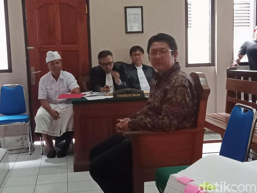 Anak Mangku Pastika Akui Terima Duit Rp 7,5 M dari Eks Bos Kadin Bali
