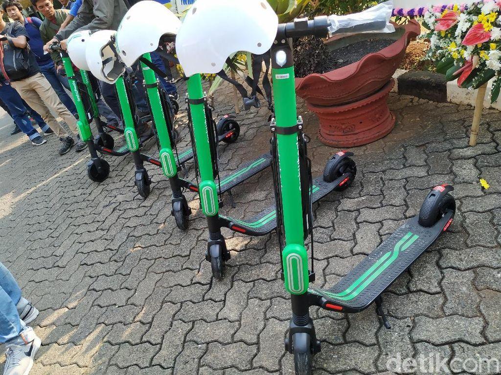 Grab Akan Denda Rp 300 Ribu Pengguna GrabWheels yang Main di Jalan Raya