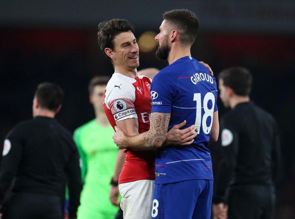 Giroud Sedih Melihat Konflik Arsenal dan Koscielny