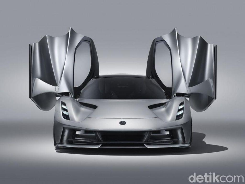 Mobil Listrik Paling Ngebut, Lotus Evija, Tenaganya 1.973 dk!
