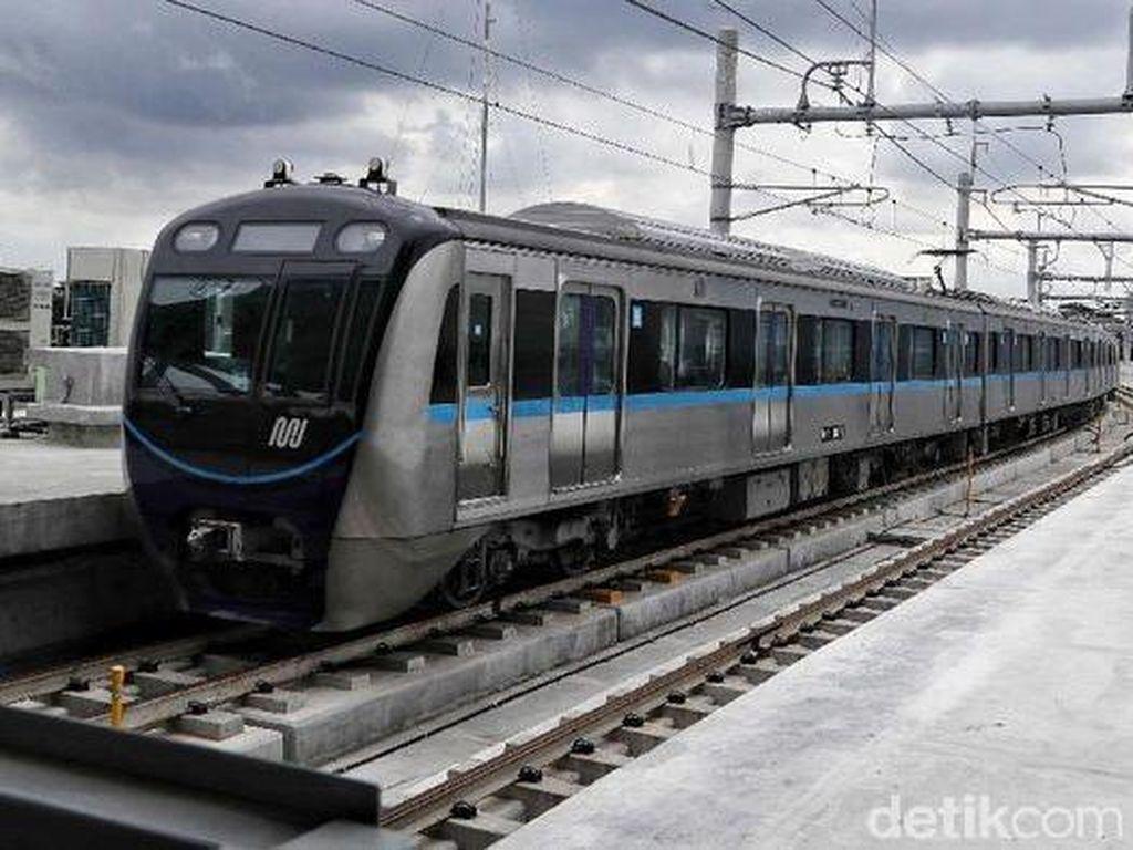 MRT Kalideres-Ujung Menteng Telan Biaya Rp 53 Triliun