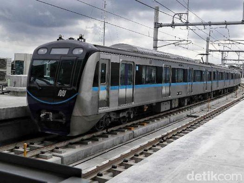 MRT Jakarta PDKT dengan Operator Kereta Korsel Garap Fase III