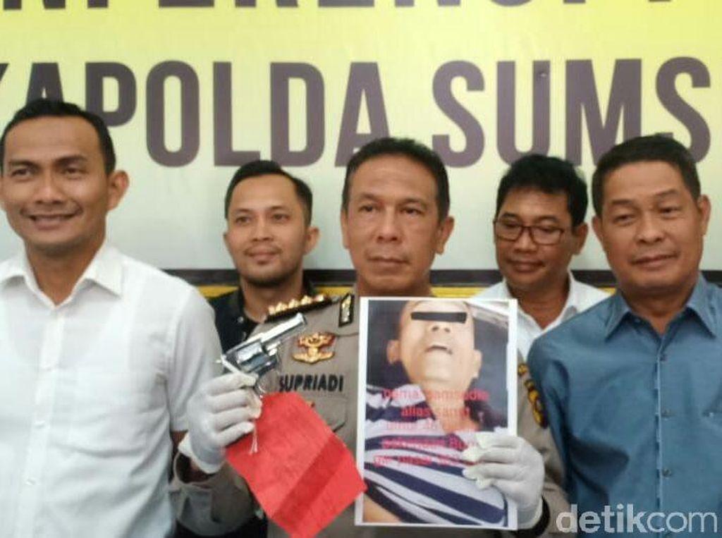 Polisi Tembak Mati Pelaku Curanmor Bersenpi di Palembang