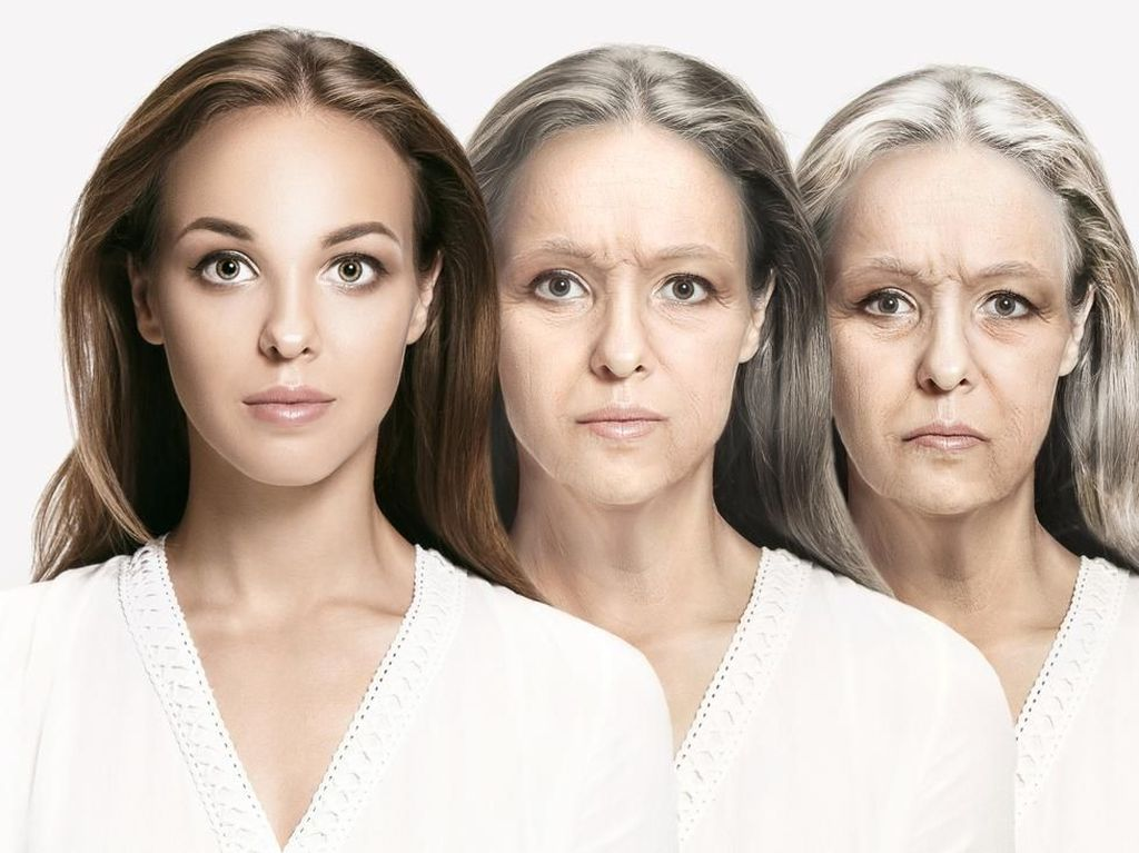 Viral Aplikasi Bikin Wajah Jadi Tua di IG, Dokter Kulit Jelaskan Efek Penuaan