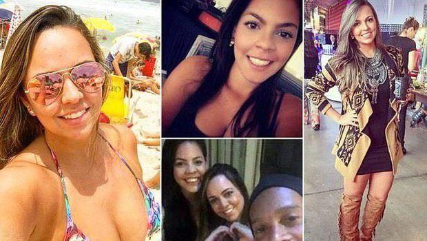 Ronaldinho bersama dua kekasihnya