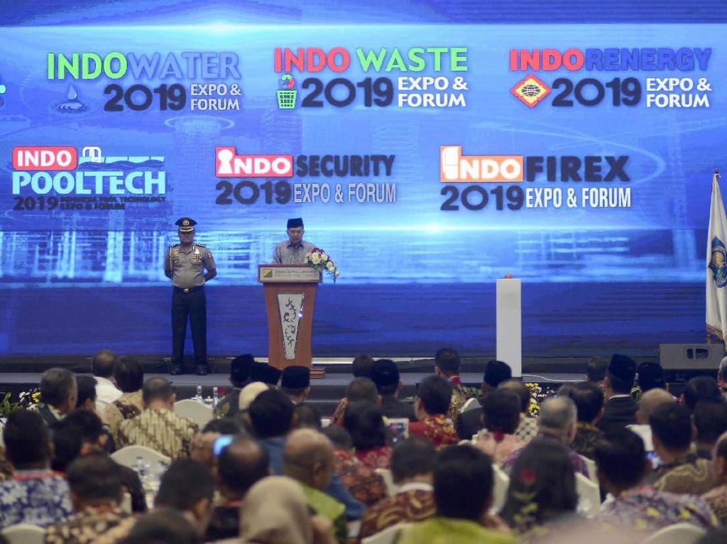 JK Buka Pameran Teknologi Industri Terbesar dan Terlengkap