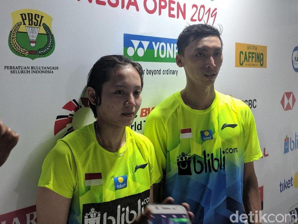 Kalah Stamina, Ronald/Annisa Tersingkir di Babak Pertama Indonesia Open