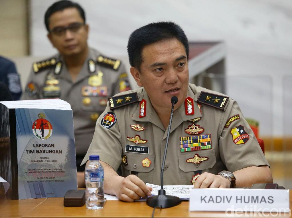 Eggi Sudjana Surati Jokowi Minta Kasusnya Disetop, Polri: Penyidik Independen
