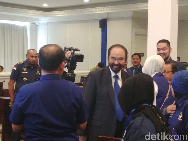 Paloh Pastikan PDIP hingga PKS Diundang ke Penutupan Kongres NasDem