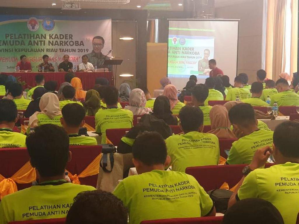 Ratusan Peserta Ikuti Pelatihan Anti Narkoba di Batam