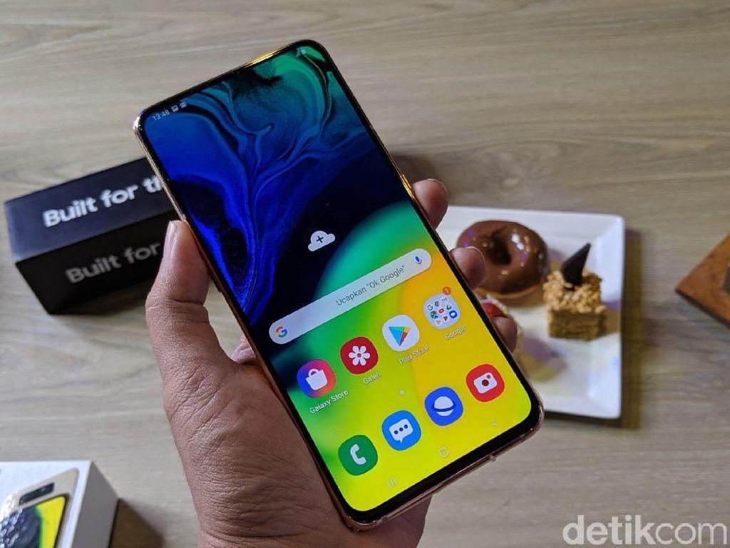 Resmi Mendarat ke Indonesia, Berapa Harga Samsung Galaxy A80?