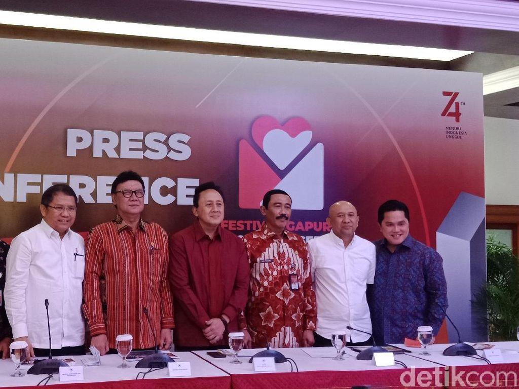 Sambut HUT Ke-74 RI, Pemerintah Gelar Festival Gapura Cinta Negeri
