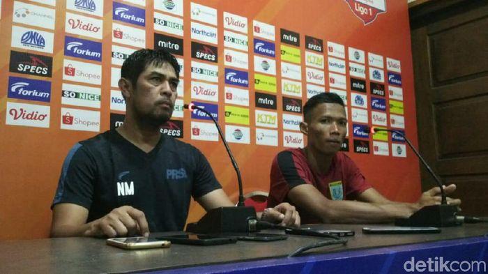 Pelatih Persela Lamongan, Nilmaizar. (Foto: Eko Sudjarwo/detikcom)