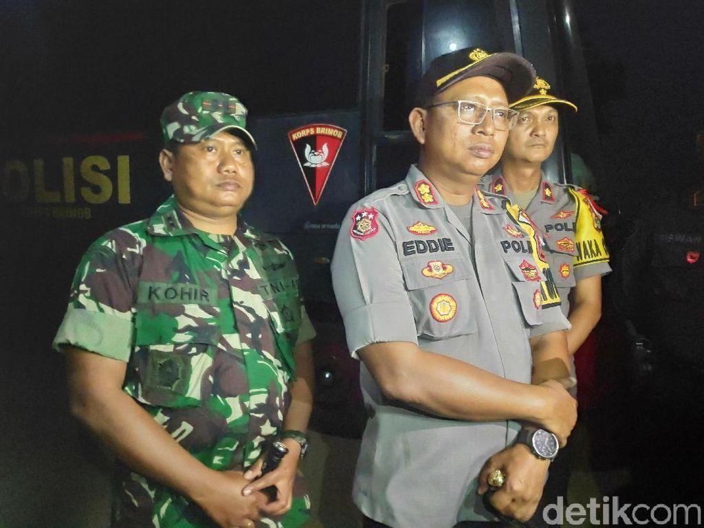 Polisi dan TNI Masih Berjaga Pascabentrok Mesuji