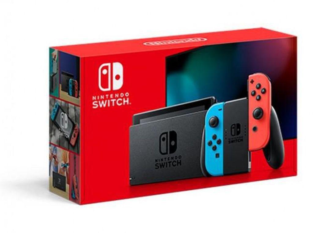 Nintendo Rilis Switch Anyar, Baterainya Lebih Tahan Lama