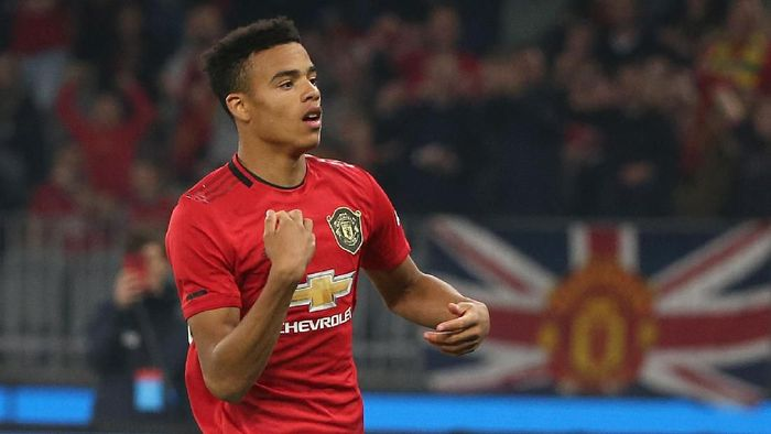 Mason Greenwood diminta untuk enjoy. (Foto: Paul Kane/Getty Images)