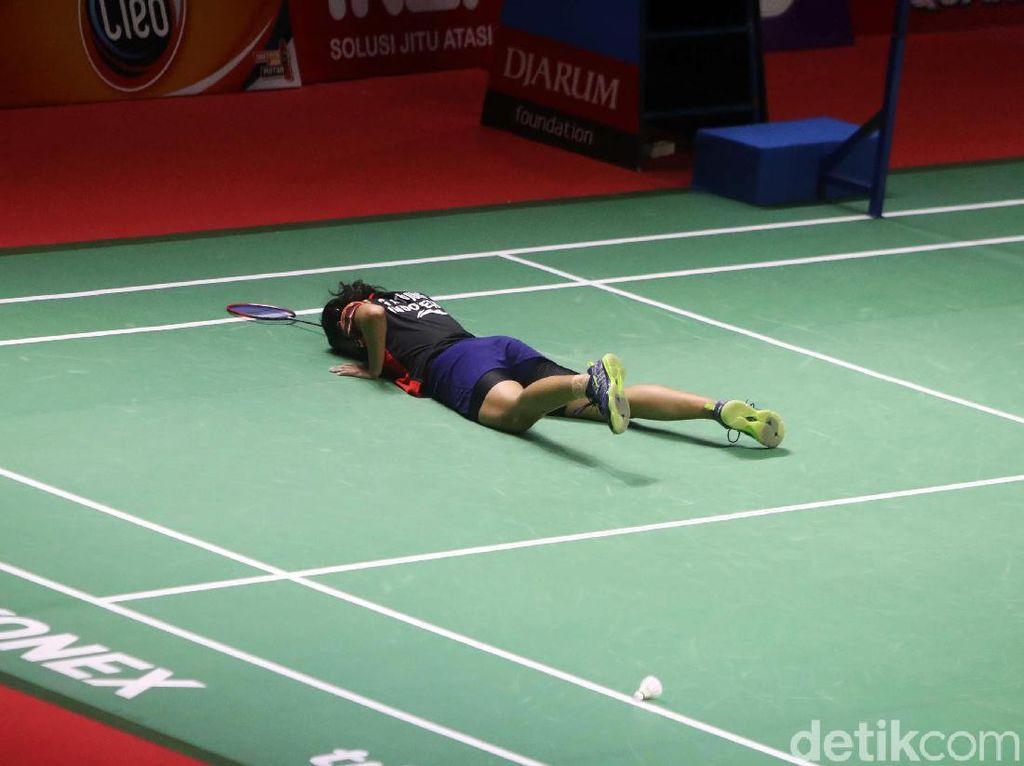 Gregoria Tersungkur di Babak 16 Besar Indonesia Open