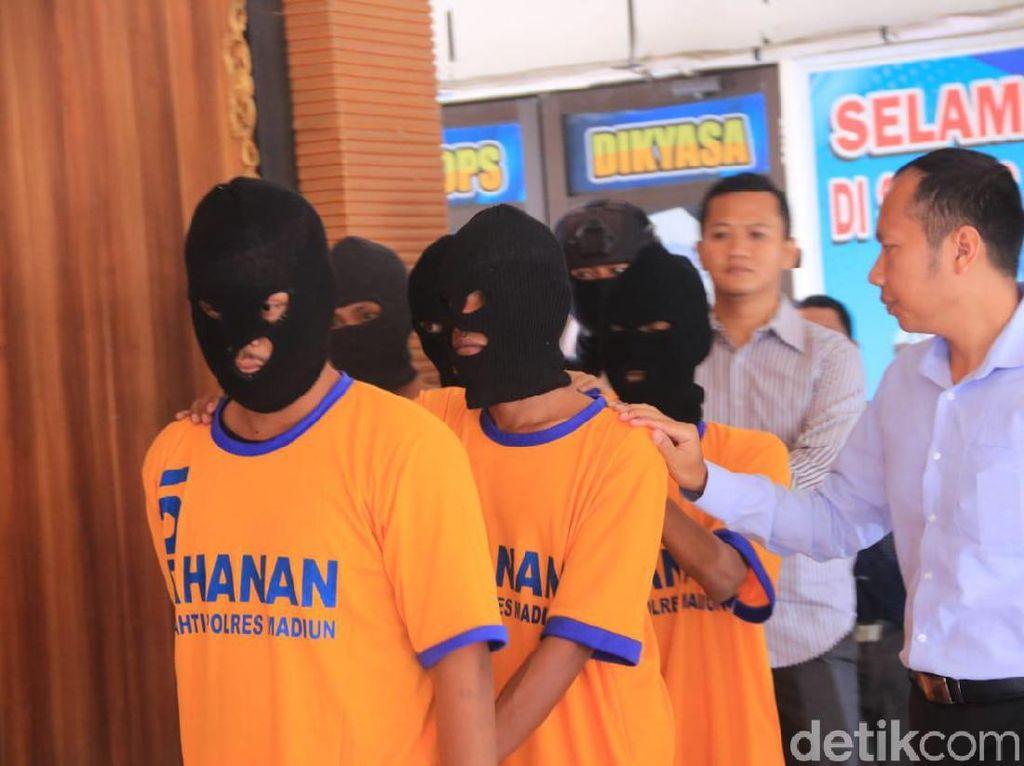 Enam Bonek Jadi Tersangka Perusakan Truk dan Penganiayaan Sopir di Madiun