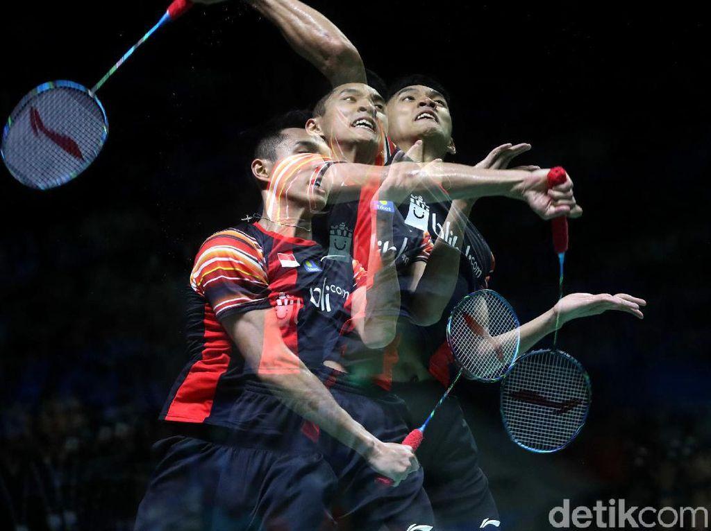 Jonatan Christie, Kevin/Marcus Lolos Perempatfinal Indonesia Open