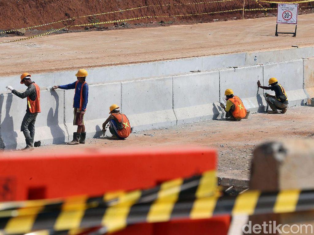 Mengintip Progres Pembangunan Ruas Tol Cinere-Serpong