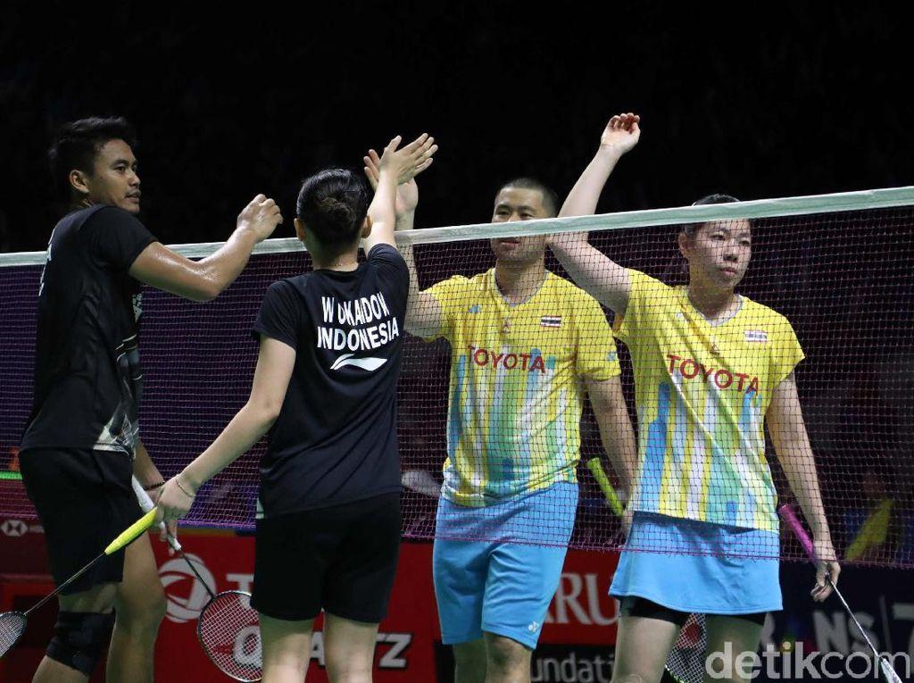 Baru Perempatfinal Indonesia Open, Ganda Campuran Cuma Sisakan Tontowi/Winny