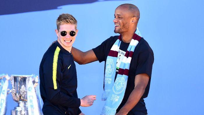 Kevin De Bruyne tertarik jadi kapten Manchester City (Nathan Stirk/Getty Images)