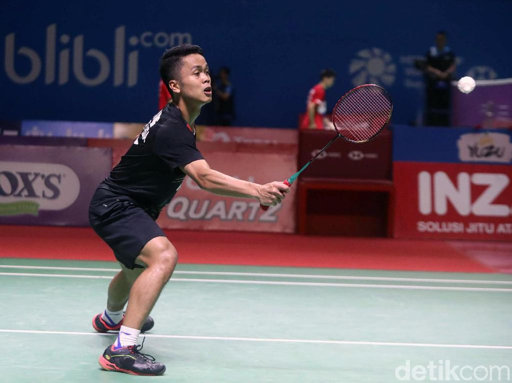 Anthony Gagal Juara Usai Dikalahkan Momota di Final China Open