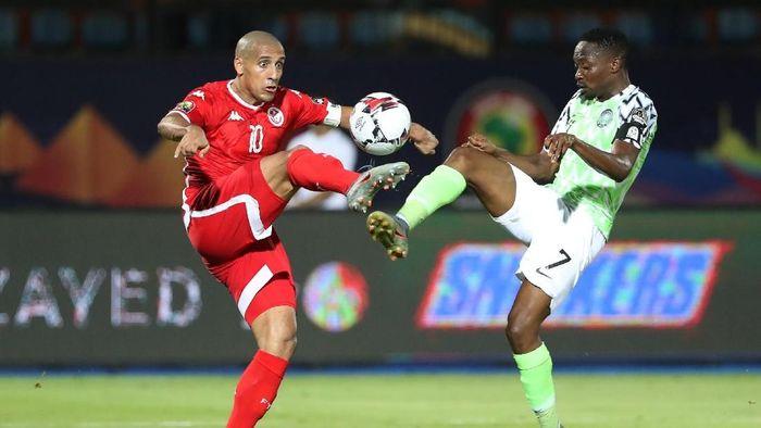 Nigeria menang 1-0 atas Tunisia di perebutan tempat ketiga. (Foto: Suhaib Salem/Reuters)