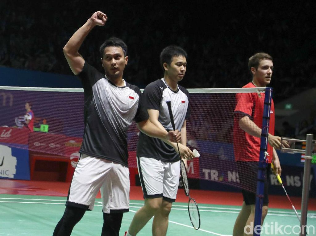 The Daddies Melenggang ke Perempatfinal Indonesia Open