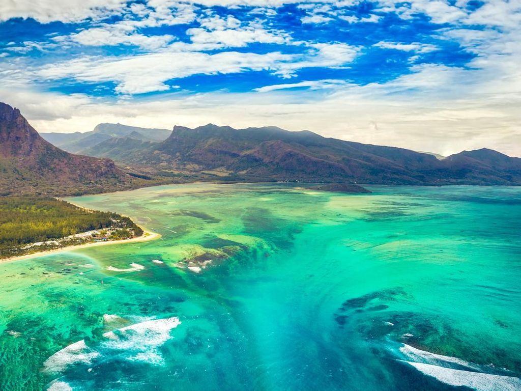 Foto: Air Terjun di Bawah Laut yang Pernah Viral
