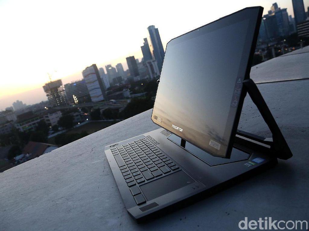 Acer Predator Triton 900, Besar, Unik, dan Kencang