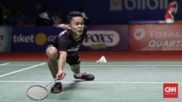 Anthony Ginting Indonesia Open 2019
