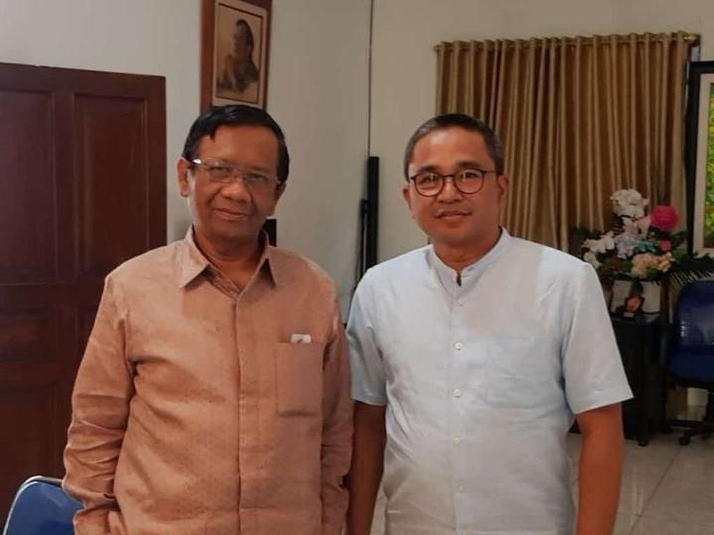 Benny Bachtiar Temui Mahfud Md Bahas Gugatan Sekda Kota Bandung