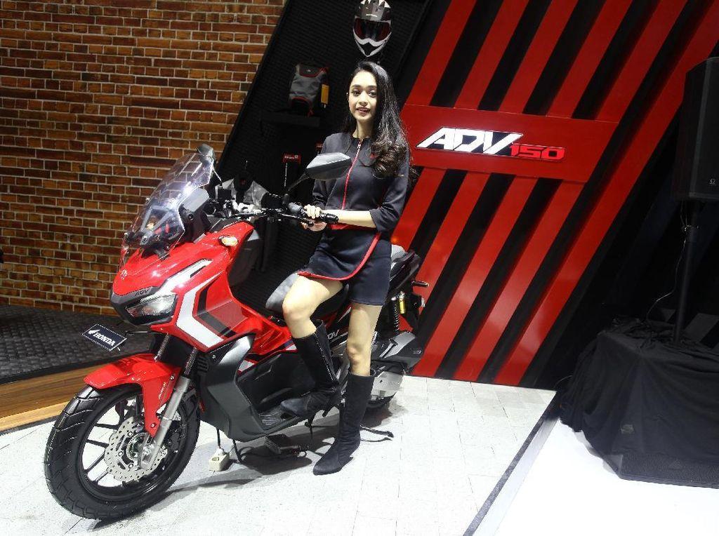 Motor Petualang Anyar Honda