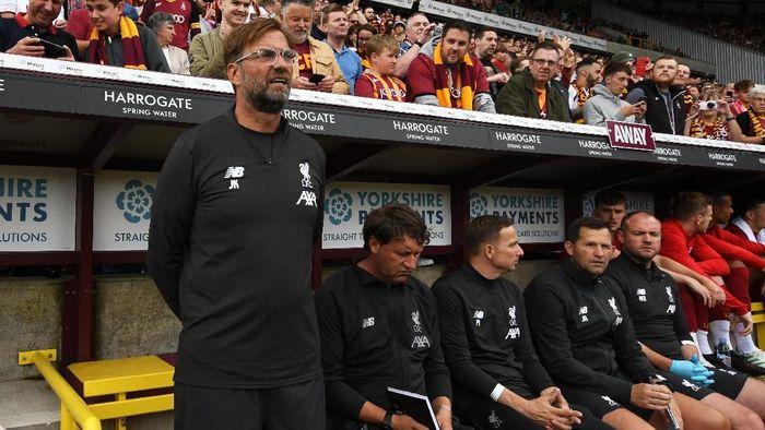 Juerge Klopp menegaskan Liverpool akan santai di bursa musim panas kali ini. (Foto: George Wood / Getty Images)