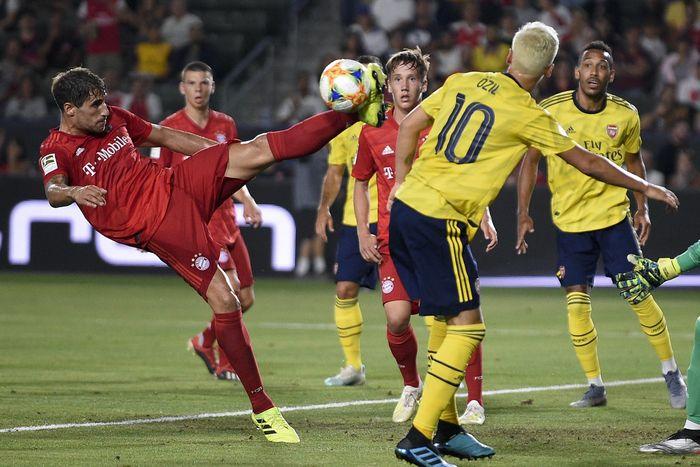 Arsenal mengalahkan Bayern Munich 2-1 di ICC 2019. (Foto: Kelvin Kuo-USA TODAY Sports)