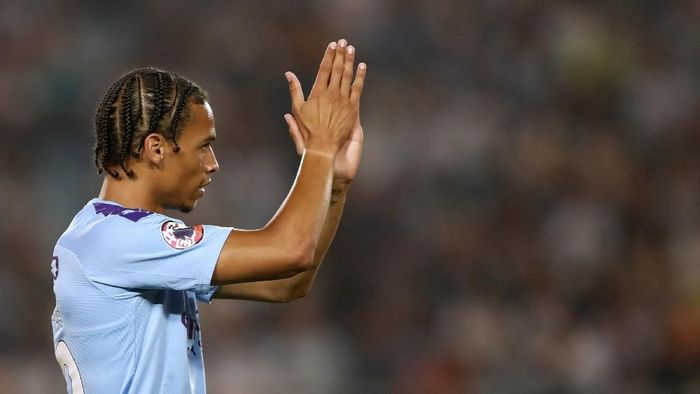 Leroy Sane dipersilakan jika memang ingin meninggalkan Manchester City (Fred Lee/Getty Images for Premier League)