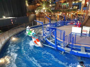 Foto: Wave Racer, Atraksi Adrenalin Aman untuk Anak