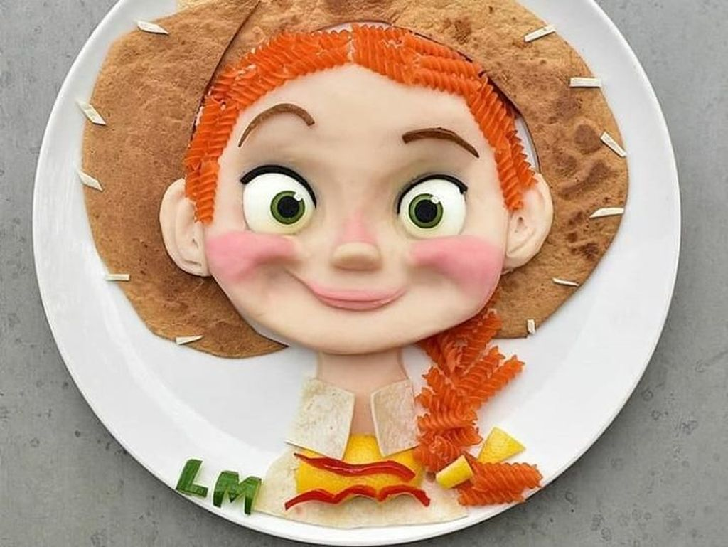 Unik dan Menggemaskan, Ini Ide Kreatif Agar Anak Doyan Makan