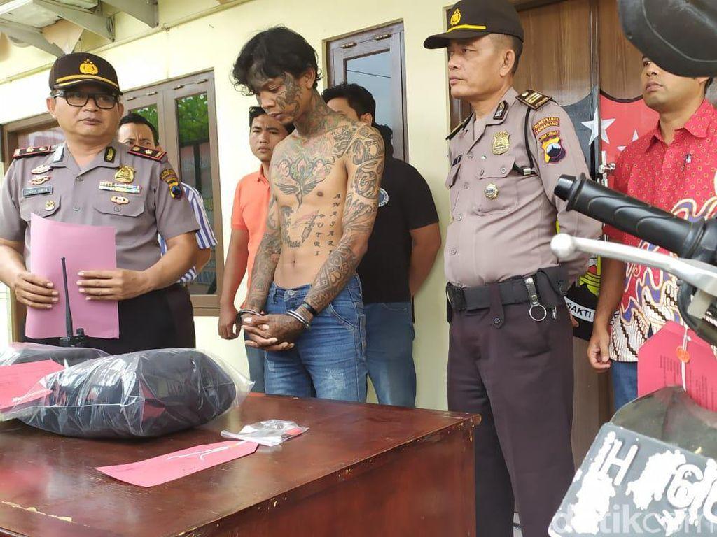 Pria Bertato Ditangkap Polisi Semarang Karena Curi Uang Guru SD