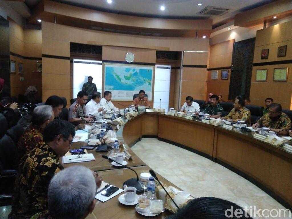 Pimpin Rakor, Wiranto Bicara Ancaman Stabilitas Keamanan Nasional