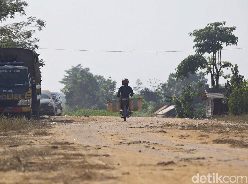 Pascabentrok, Warga Mekar Jaya Mesuji Masih Takut untuk Bekerja