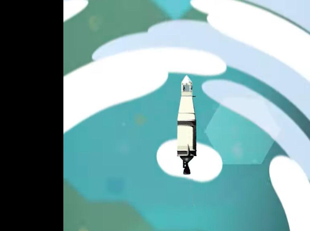 Keren! Animasi Google Ceritakan Pendaratan Manusia di Bulan