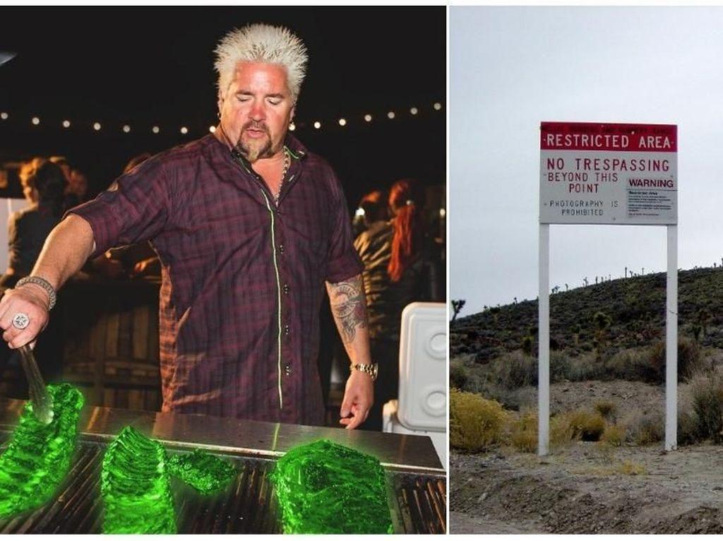 Selebriti Chef Ini Akan Masak Iga Bakar Radioaktif Buat Penyerbu Area 51